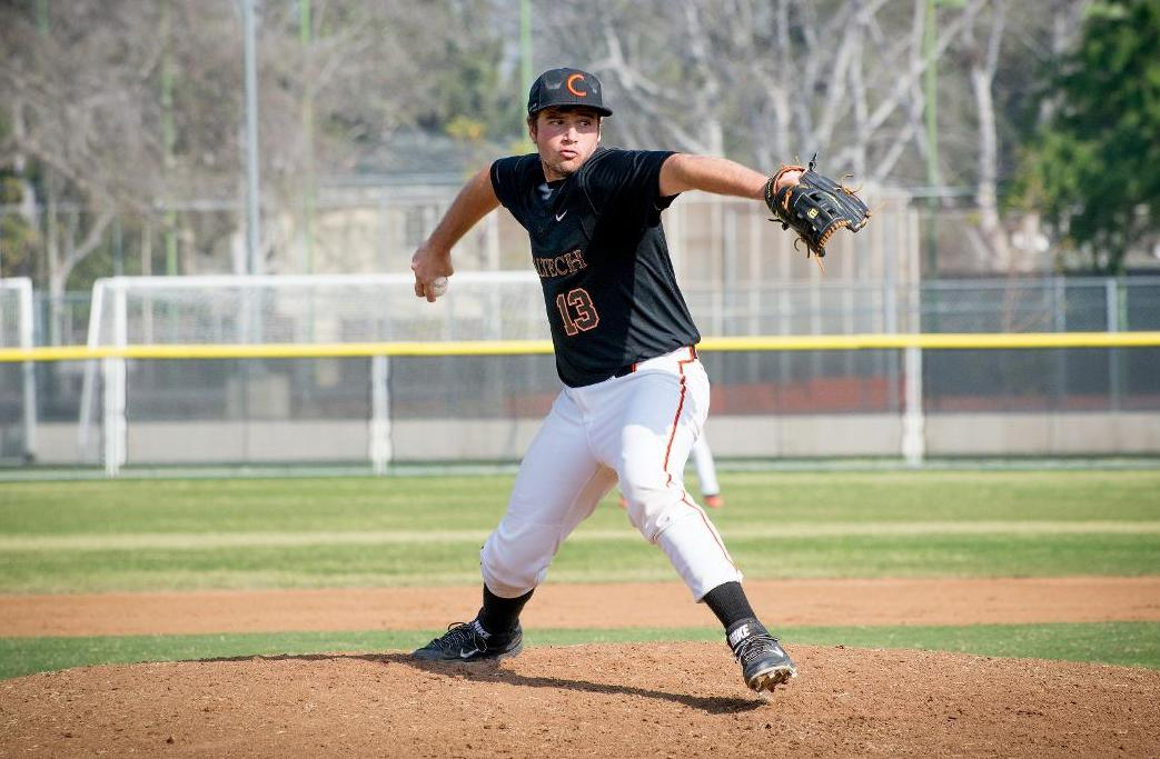 Levine Impresses on Mound, at Plate Against Bates