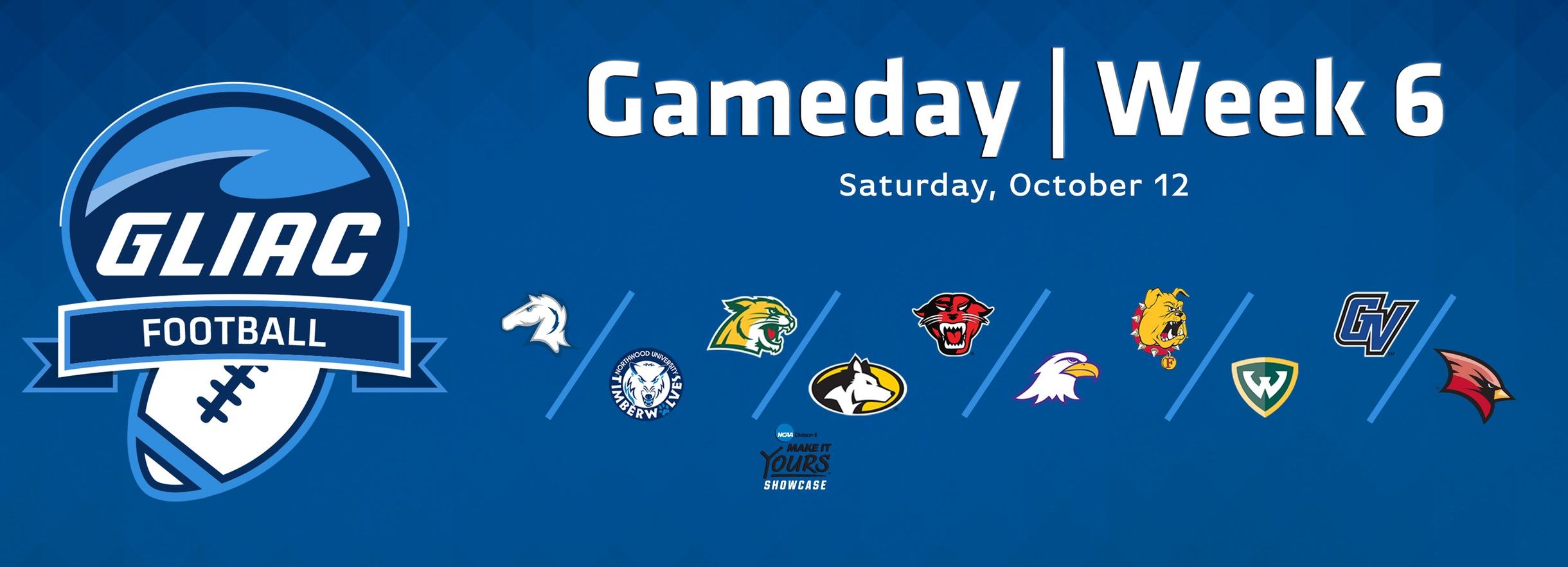 2019 GLIAC Football Gameday - Week 6