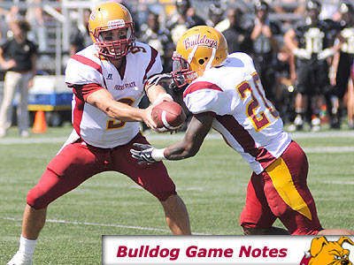 Football Game Notes: Tiffin (Sept. 25)