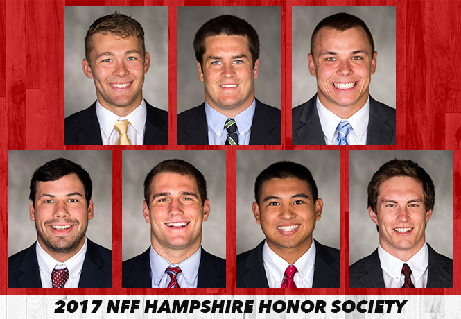 Christian Rodriguez named to National Football Foundation Hampshire Honor Society