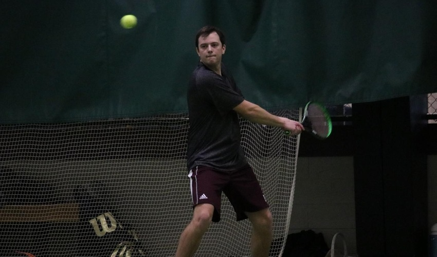 Men's tennis falls to Daemen in non-conference action