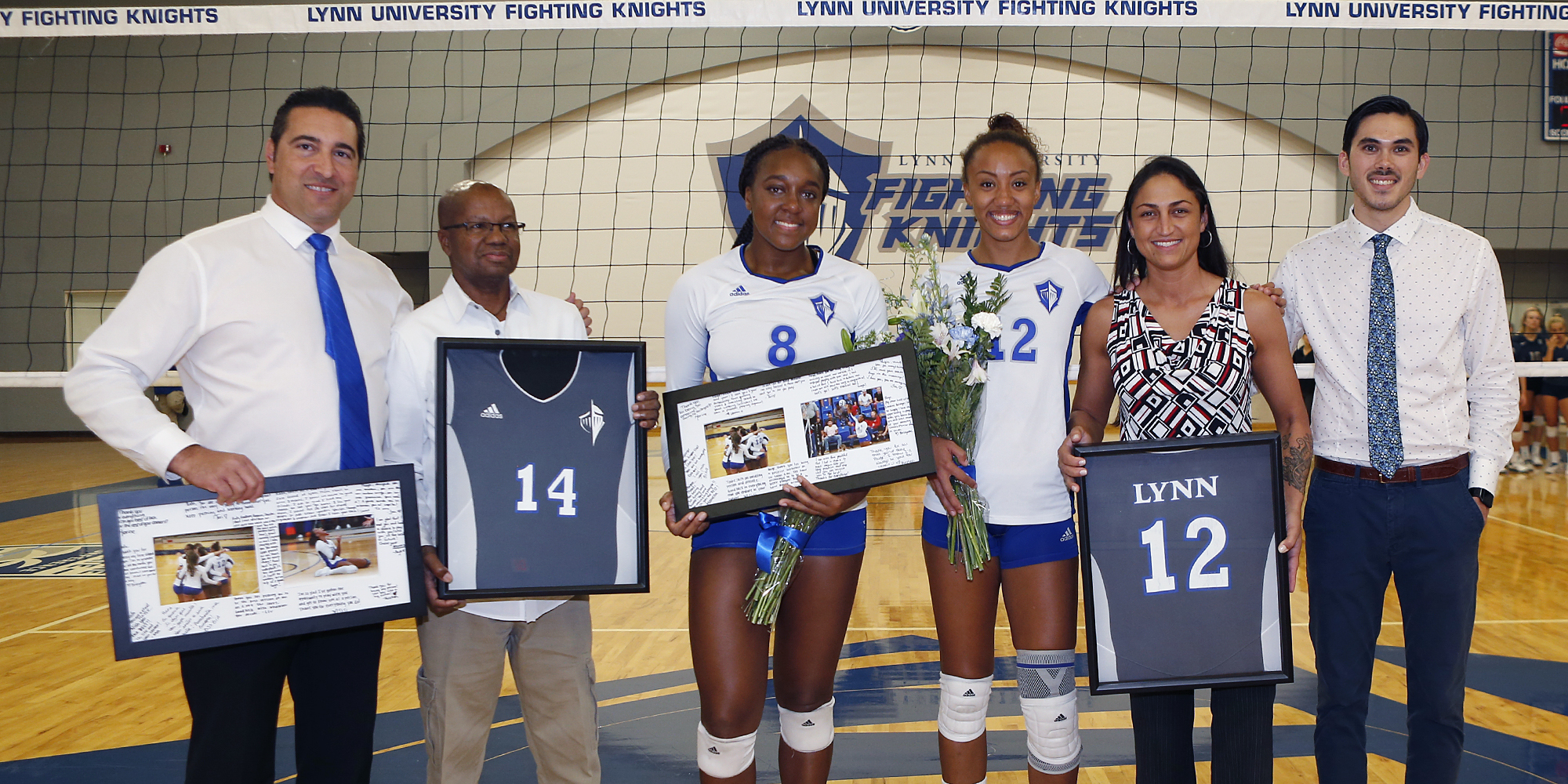 Fonseca Delivers for Volleyball on Senior Day