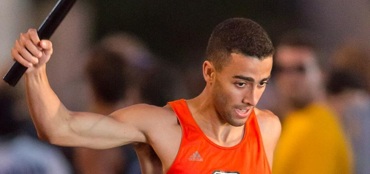Oxy 4x100m Runs Fastest Time in Nation