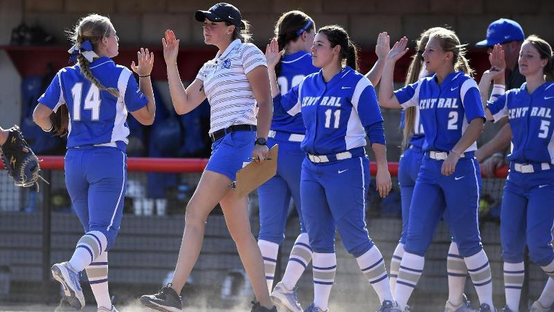 Weather Moves Softball Doubleheader at Holy Cross up to Thursday
