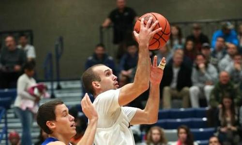 Riester, Daniel Lead Offense as #12 UMW Men Top Frostburg State, 87-59