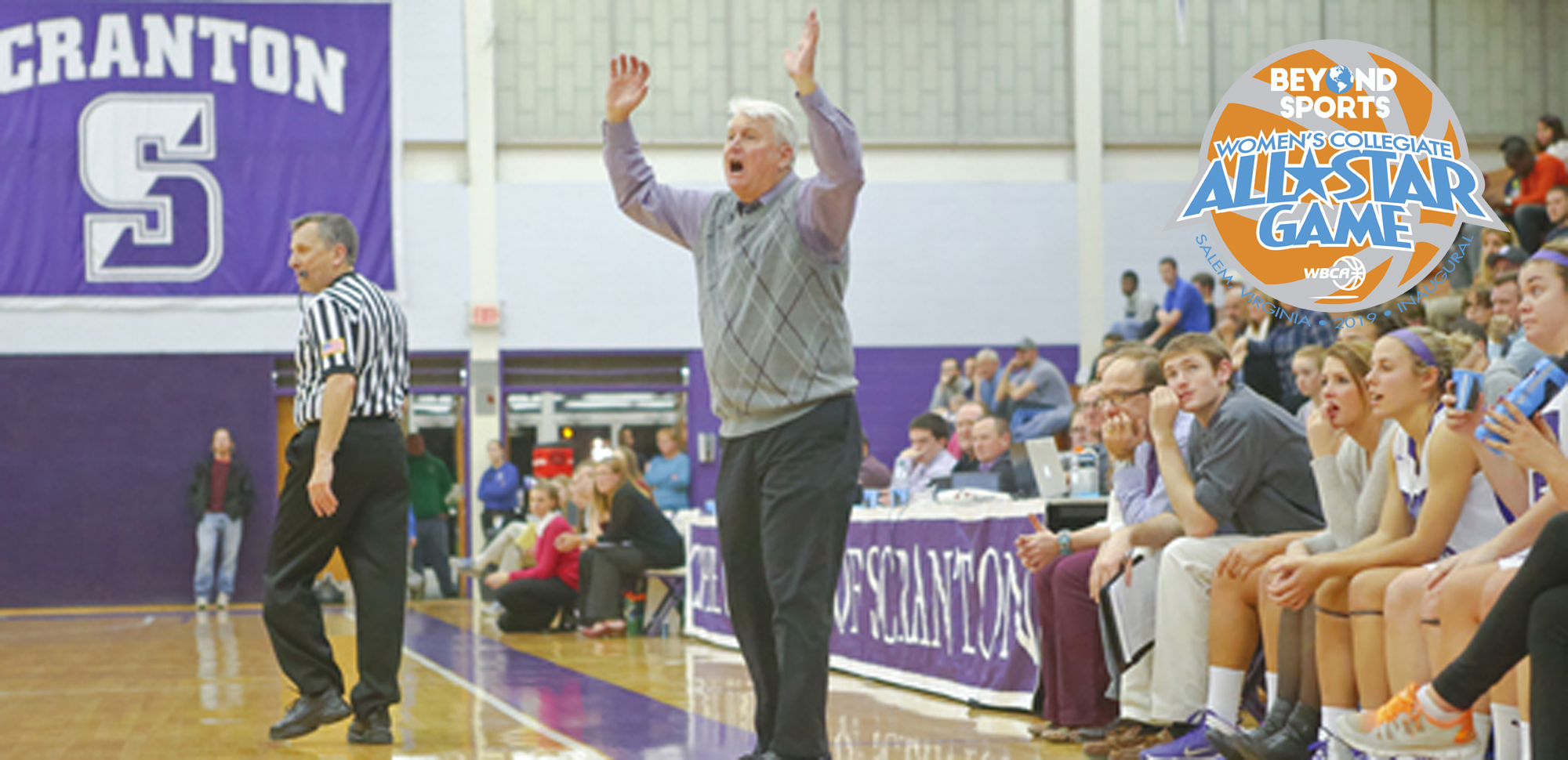 Former Lady Royals' coach Mike Strong will coach a team at Saturday's Beyond Sports Women's Collegiate All-Star Game.