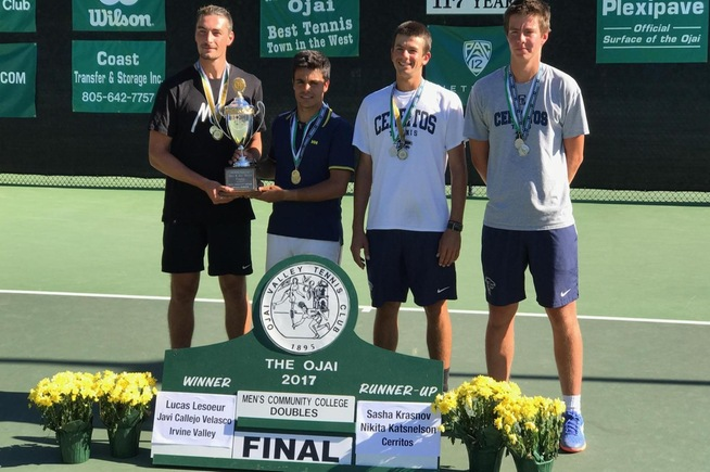 Doubles team falls in state championship match