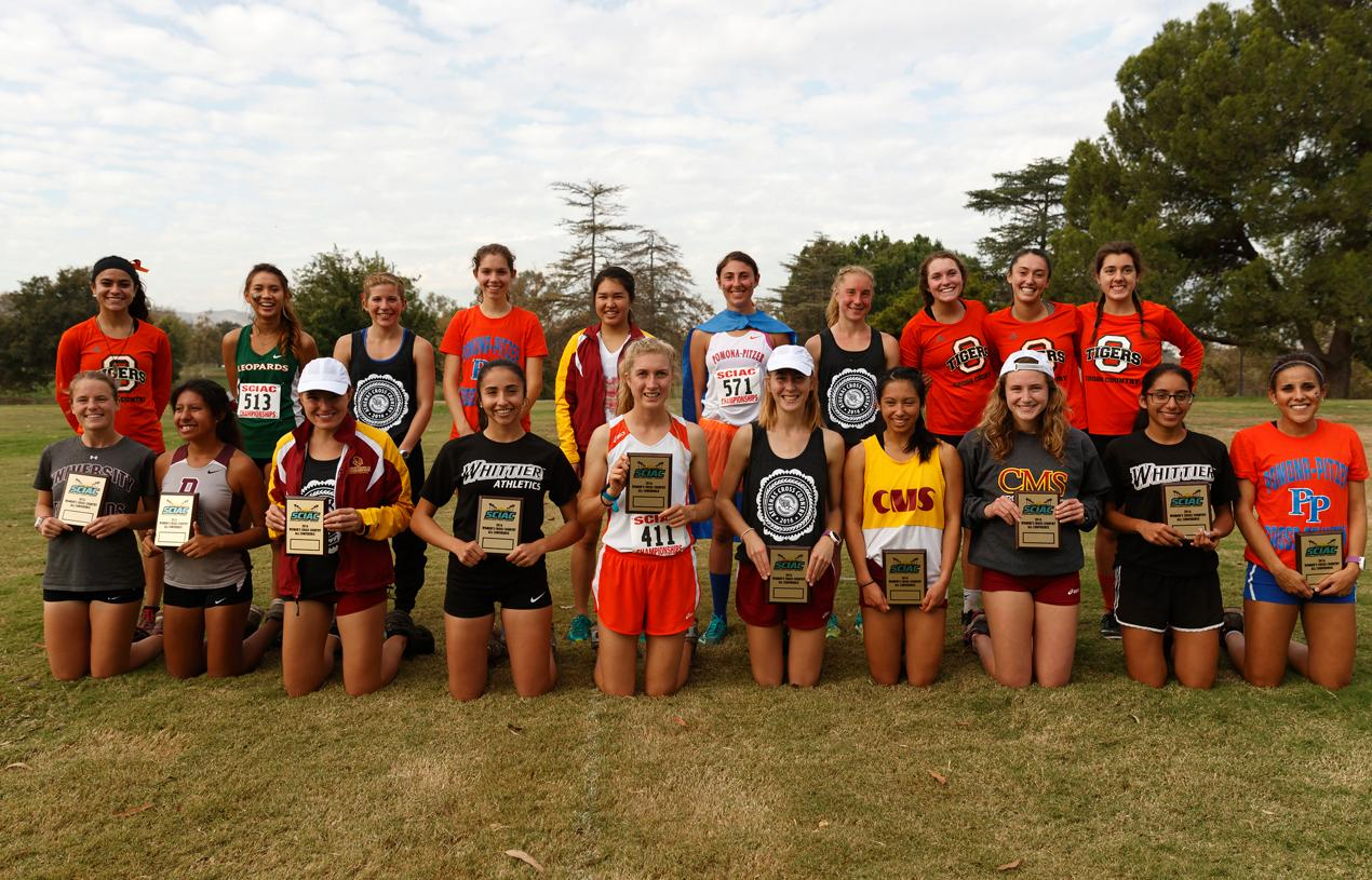 Cross Country Places Sixth, Walton First Team All-SCIAC