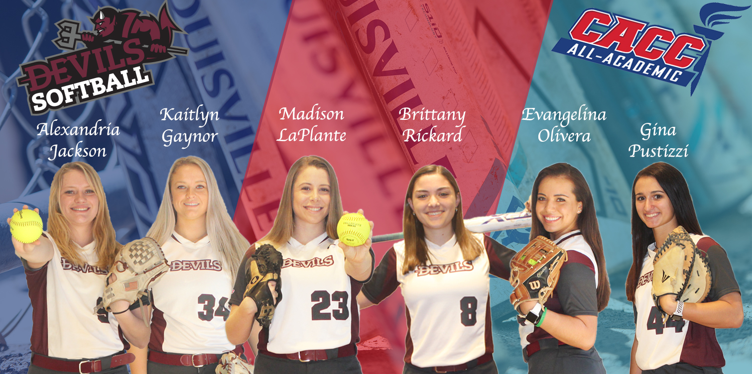 Softball Leads CACC with Six All-Academic Honorees