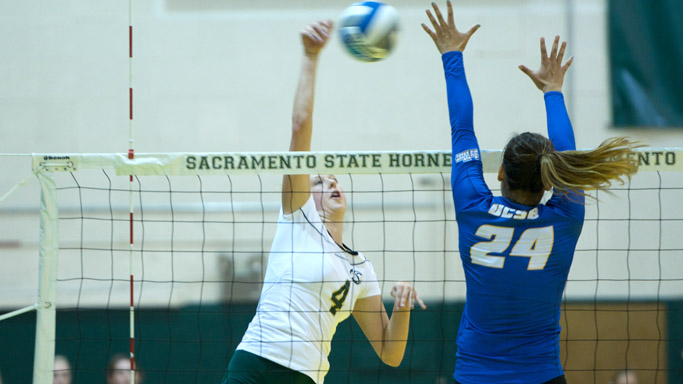 VOLLEYBALL BEGINS HOMESTAND THURSDAY VS. IDAHO STATE