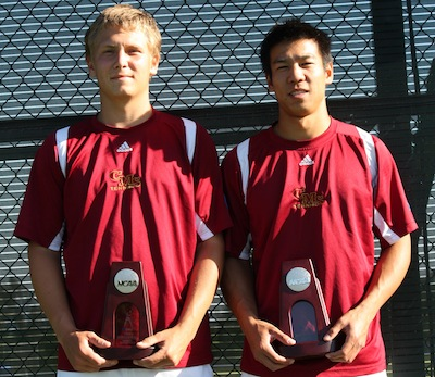 Men's Tennis Finishes Strong at NCAAs
