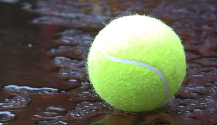 Tennis match versus Converse rescheduled