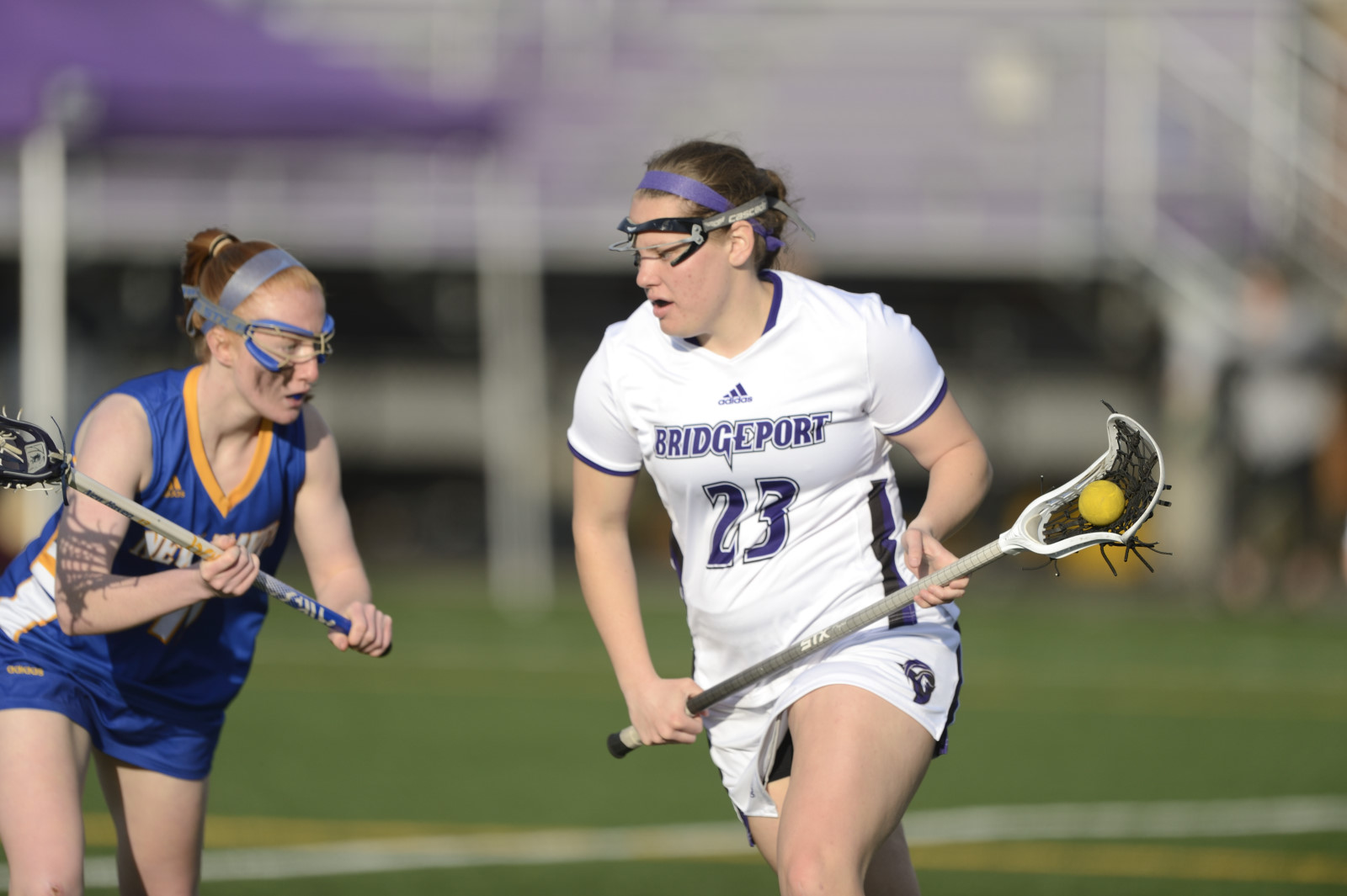 Purple Knights Put On An Offensive Show As Women's Lacrosse Tops AIC, 20-6, In 2019 Season Opener