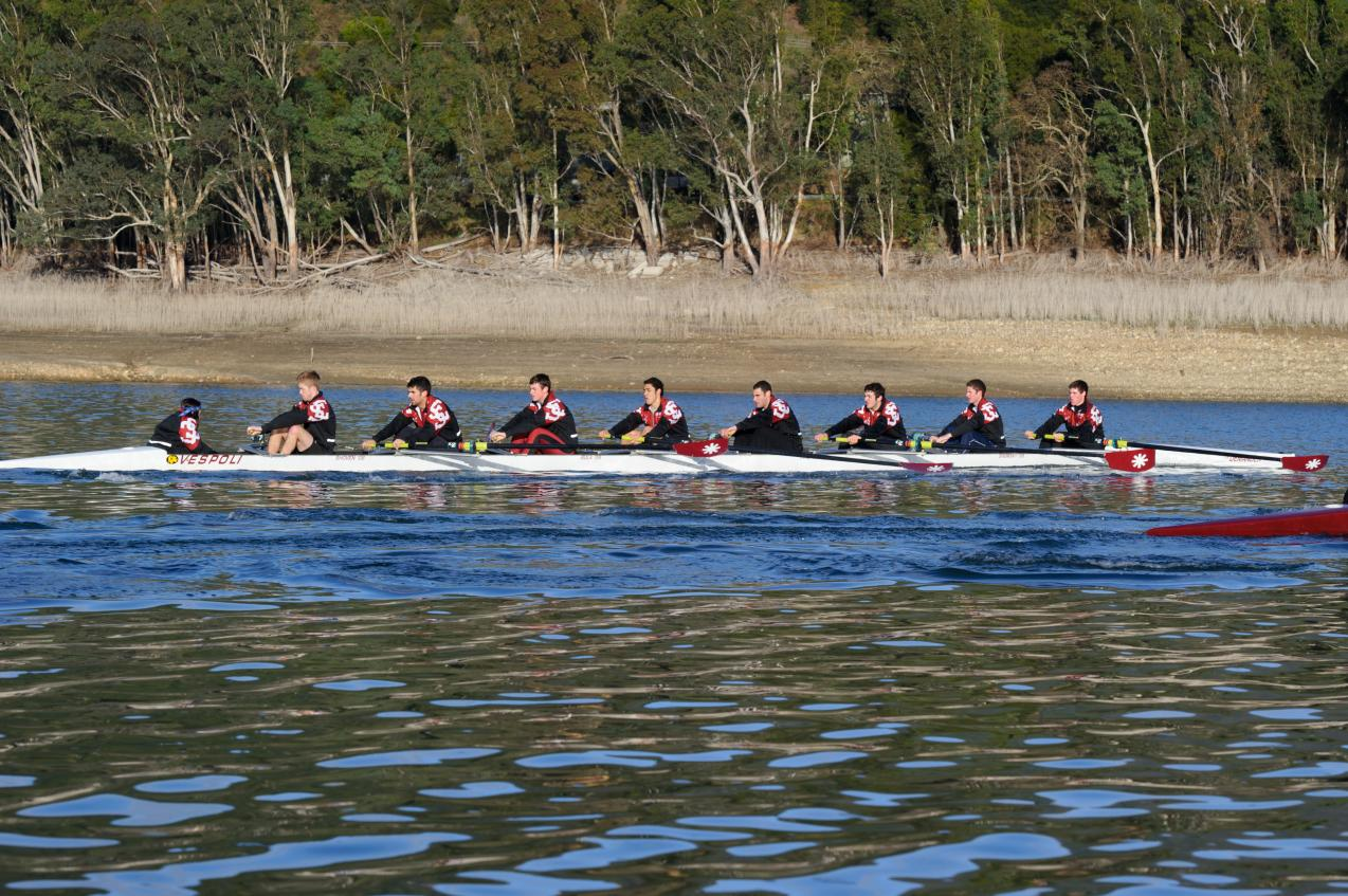Santa Clara Men's Rowing Has Solid Showing at Western Intercollegiate Rowing Association Championships