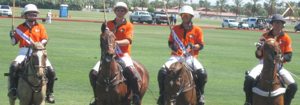 TIGER CLUB REPS ENJOY AFTERNOON OF POLO