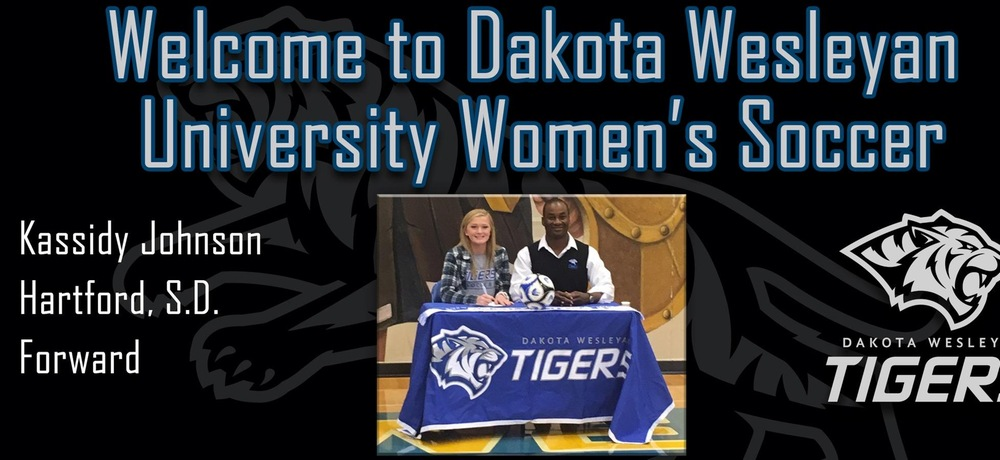Johnson inks with DWU women's soccer