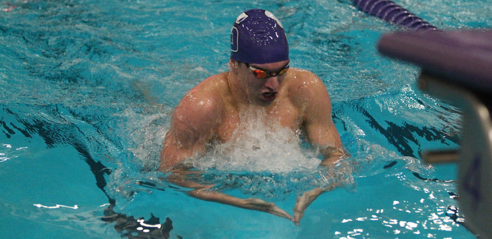 Junior Matt Mills of the men's swimming & diving team was named The University of Scranton Athlete of the Week for the first time in his career on Monday.