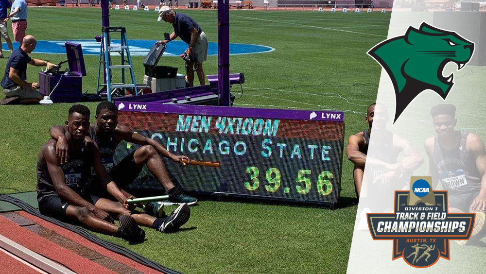 CSU 4x100 Finishes Top 20 In Nation