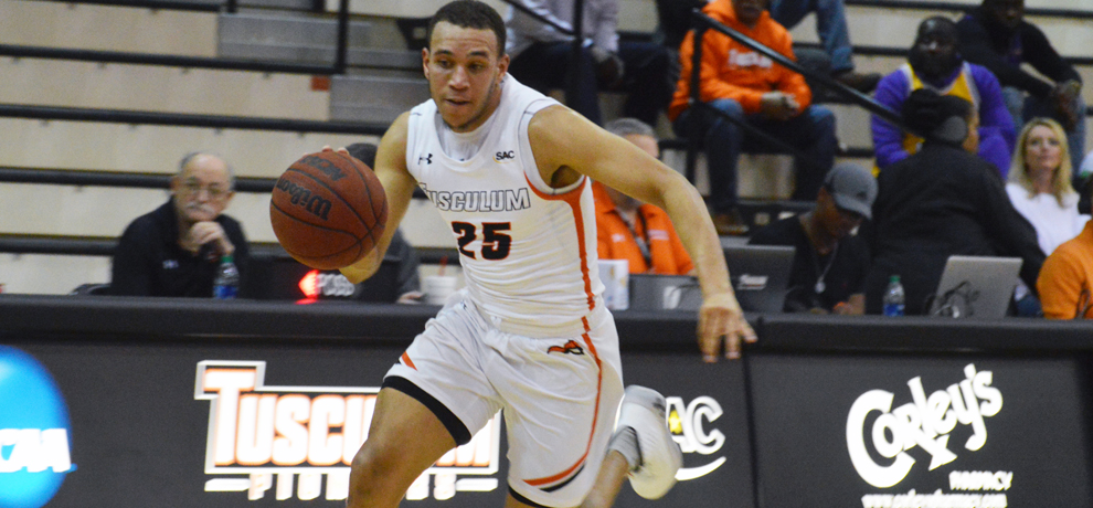Pioneers use defense, first half run to down Wingate 75-53