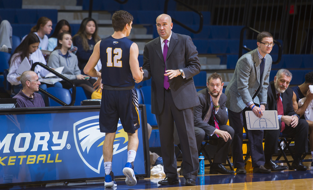 Emory Men's Basketball Upends No. 22 Rochester