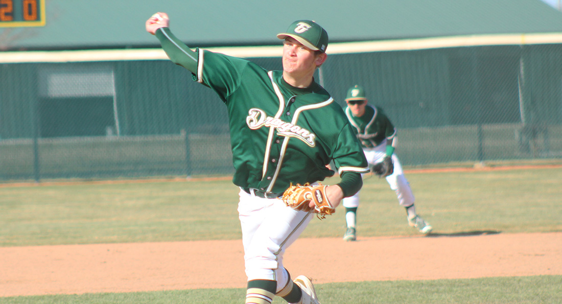 Wehrle Spins Gem in Game Two, Dragons Split with Chargers