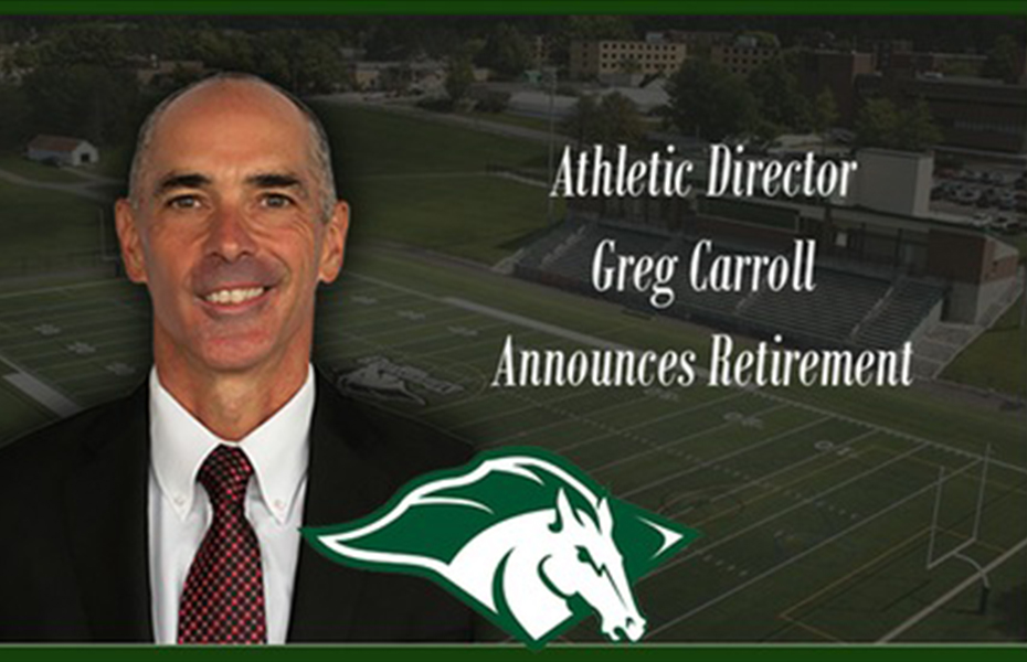 Morrisville Director of Athletics, Greg Carroll, announces retirement