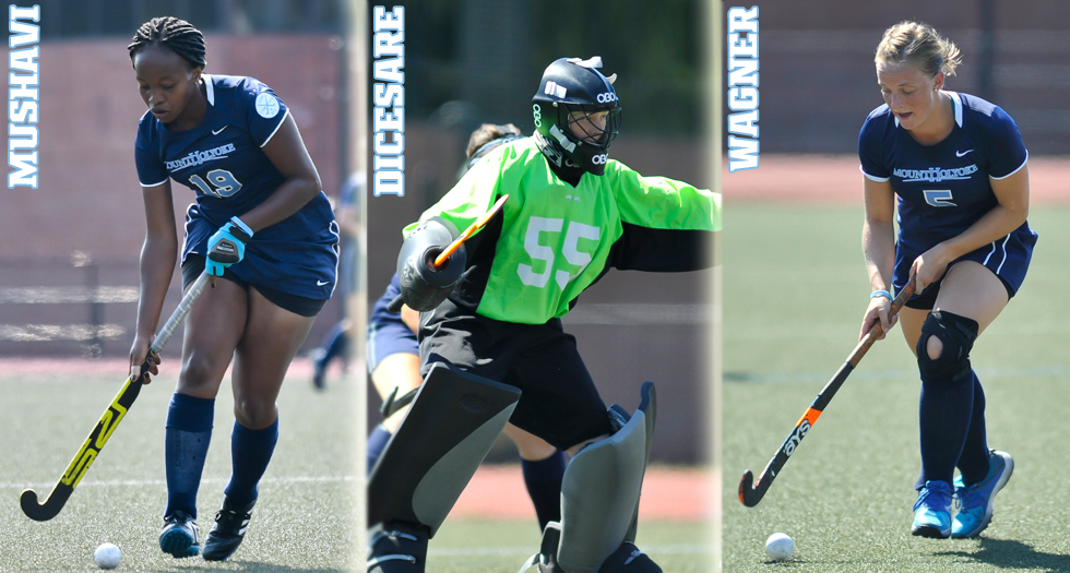 Field Hockey Places Three on All-Conference Teams