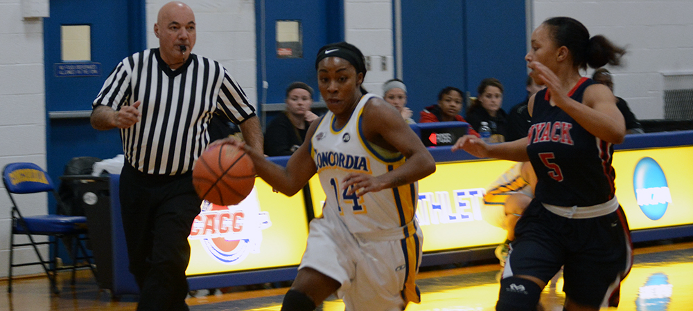 Women's Basketball Captures a 75-67 Victory at Home Over Nyack in CACC Action