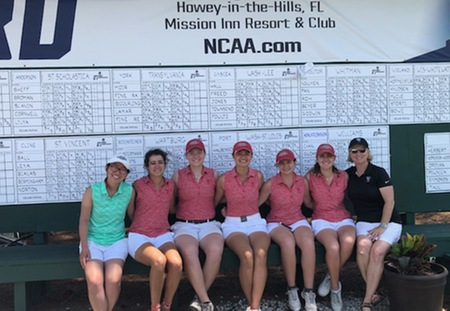 Washington University Women's Golf Ties for 10th at NCAA Championship