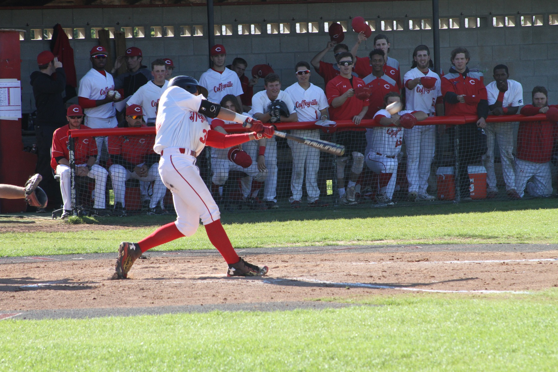 Red Raven Baseball Sweeps Allen County To End Regular Season, Awaiting Region VI Playoff Matchup