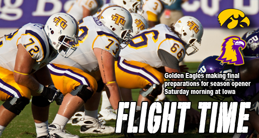 Golden Eagles venture north to take on Iowa Hawkeyes Saturday