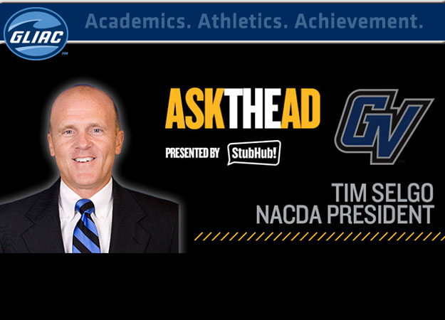 GVSU AD Tim Selgo Featured on NACDA's Ask the AD