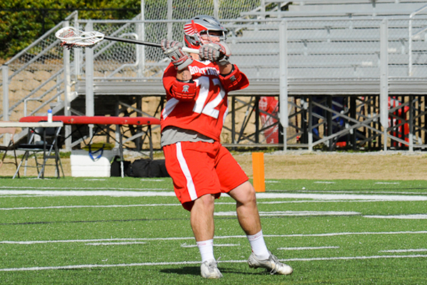 Huntingdon men's lacrosse falls at Aurora