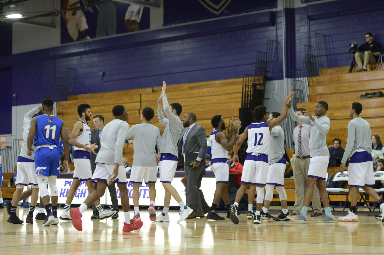 Total Team Effort Lifts Men's Basketball To Ninth Straight Triumph With A 103-69 Win Over LIU Post
