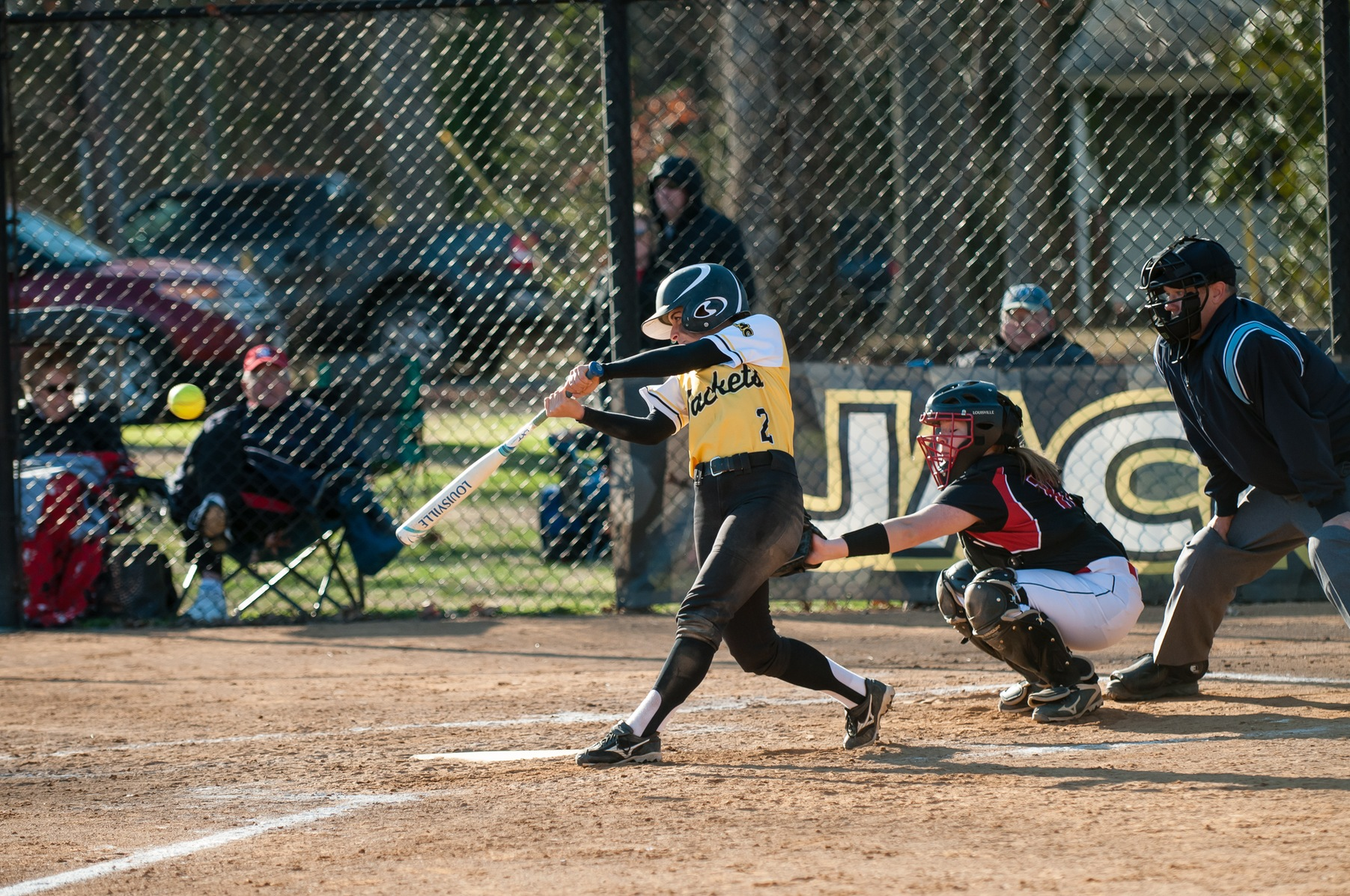 Maddie Stone Batting