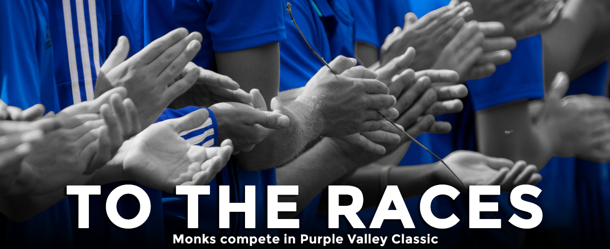 Monks Compete in Purple Valley Classic