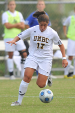 Sandra Vacarino is UMBC's first Player of the Week since 2006