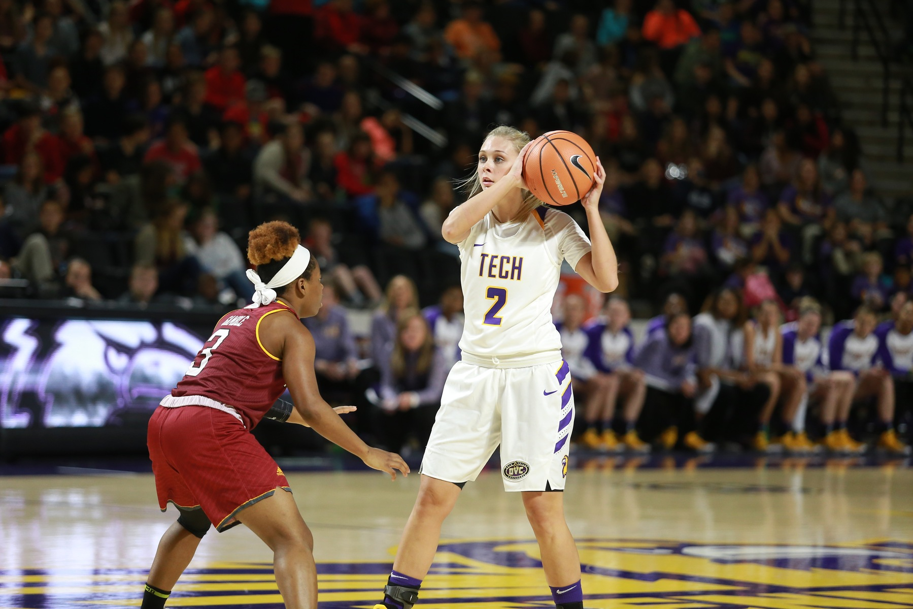 Tech ends lull with improved win over Winthrop