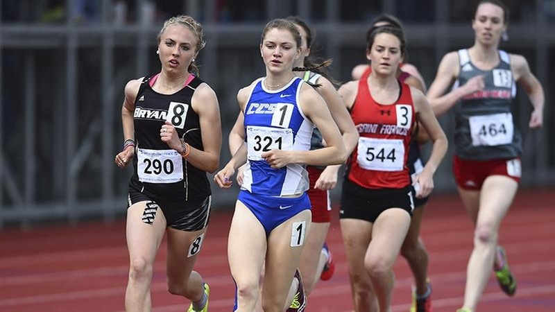 Women's Track and Field Sixth at NEC Outdoor Championships