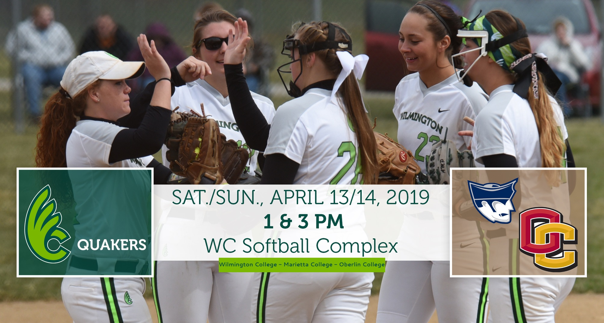Softball Hosting Marietta and Oberlin This Weekend