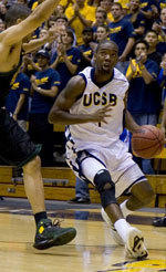 Cecil Brown's Career Night Helps Gauchos End Three-Game Losing Streak, 65-56 Over Visiting Pepperdine