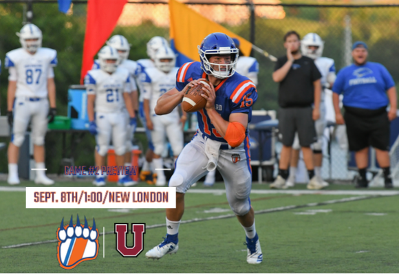 GAME #2 FOOTBALL PREVIEW: Bears Host Union