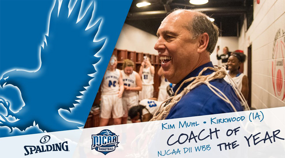 Photo for Muhl named NJCAA Coach of the Year