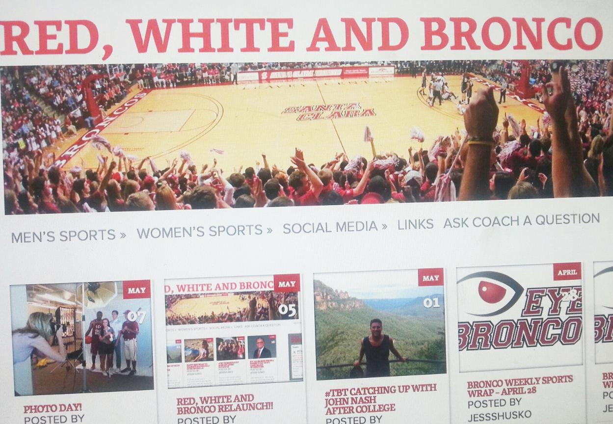 Check It Out Today! Red, White and Bronco Blog Relaunched!