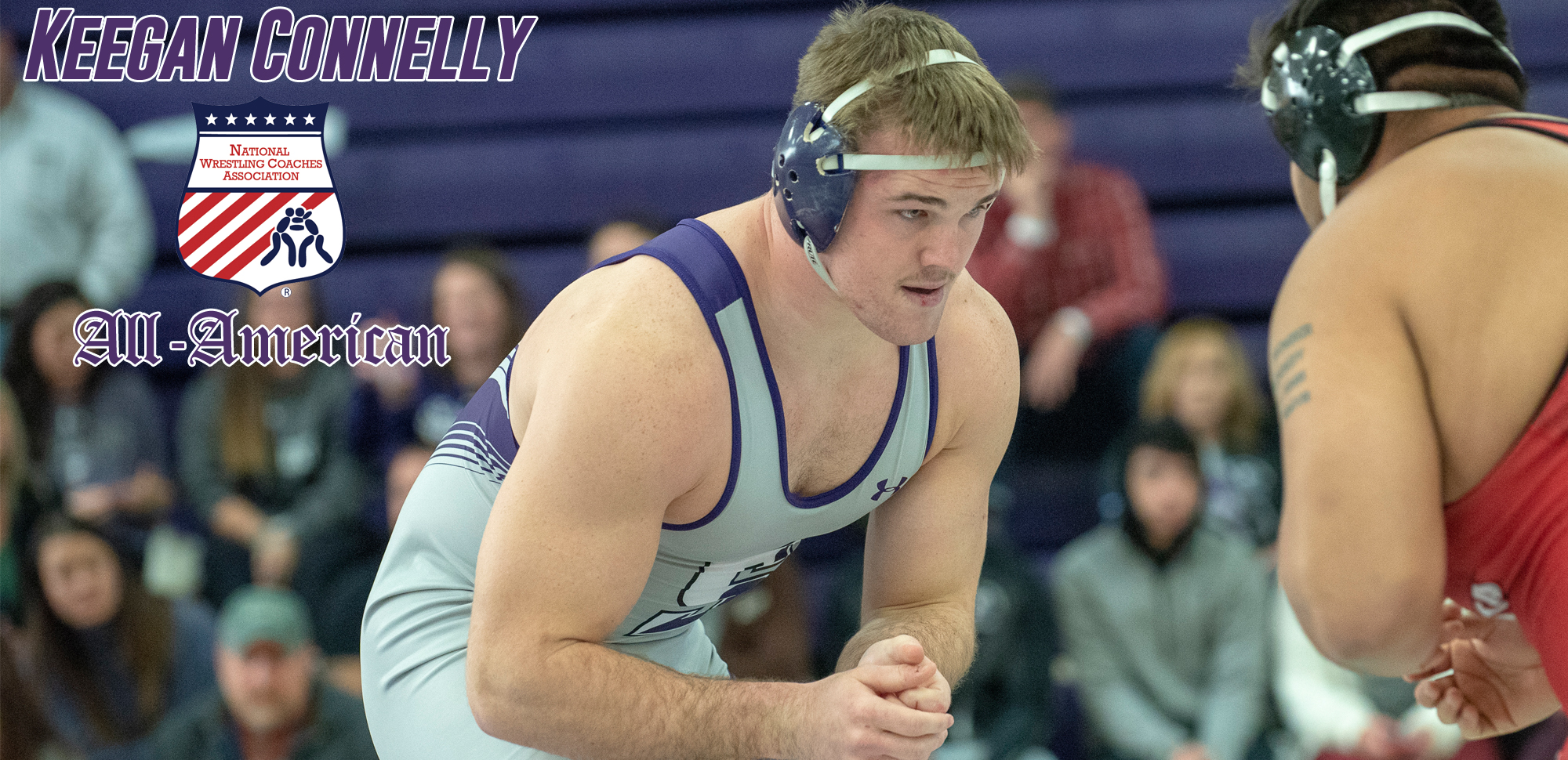 Senior Keegan Connelly was named to the 2019-20 NWCA Third Team All-American Team earlier this month.