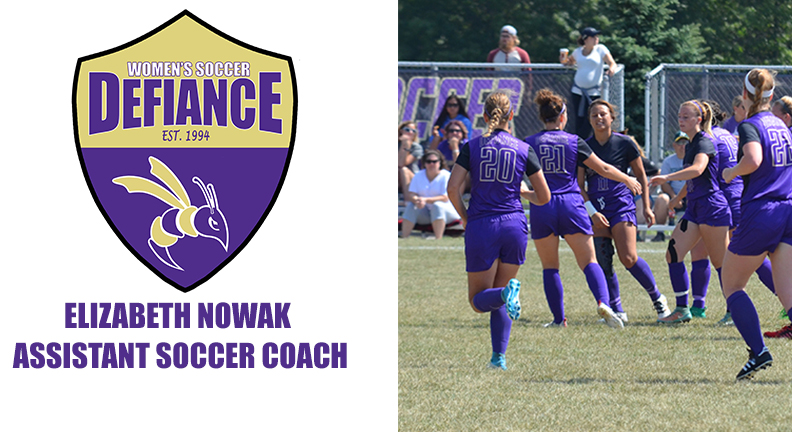 Nowak Joins Defiance College Women's Soccer Coaching Staff