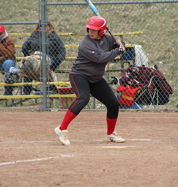 Ashley Womack's solo blast gives The Lady Red Devils walk-off win over Neosho CC, 3-2