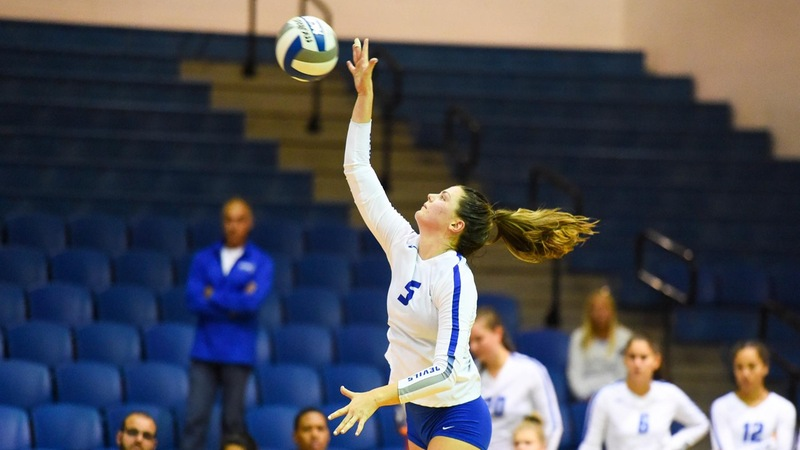 Volleyball Falls to Lafayette at Hartford Invitational Friday