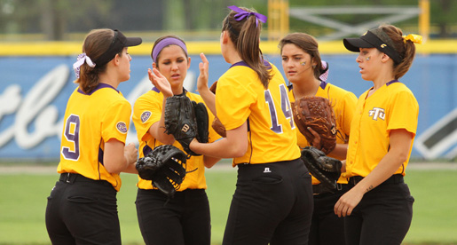 Tech softball team ends it's season at the OVC Tournament