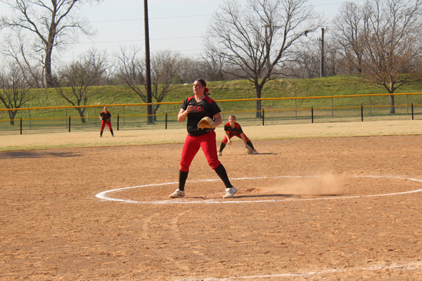 All-around effort leads The Lady Red Devils past Missouri Valley College JV 10-2